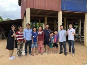 カンボジア王国プレイベン州にて技能実習生の家庭訪問