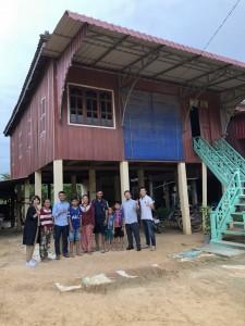 カンボジア技能実習生の家庭訪問にてプレイベン州に。